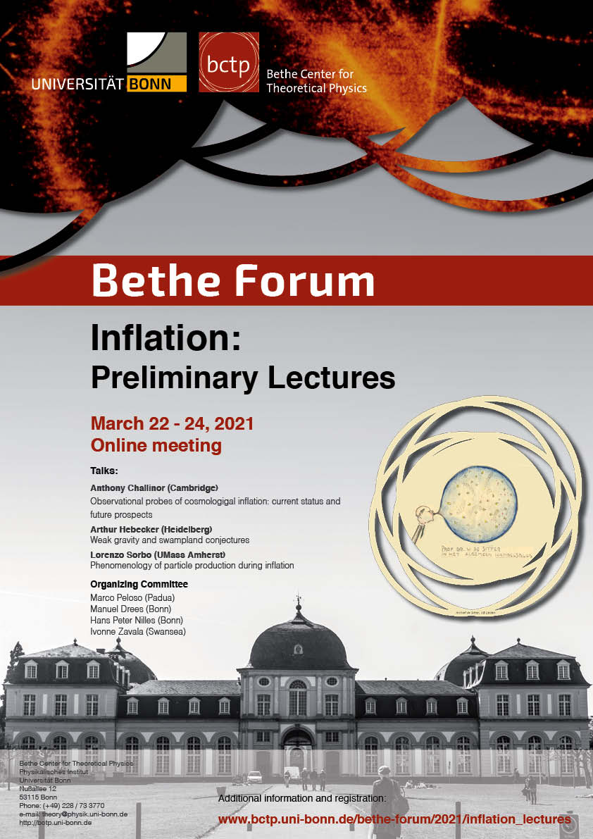 Poster Inflation - Lectures