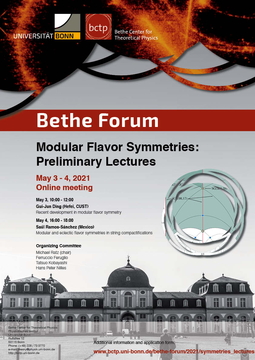 Poster Modular Flavor - Lectures