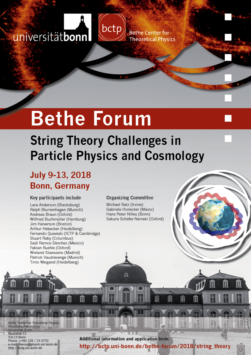 Poster String Theory Challenges