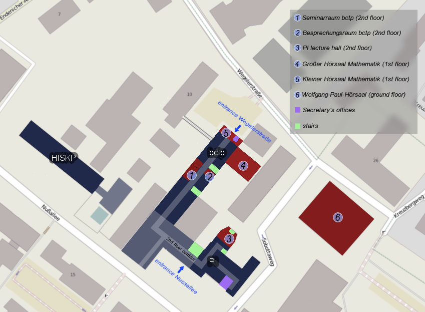 bctp Campus Map